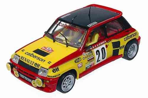 RENAULT 5 TURBO CALBERSON TEAM SLOT