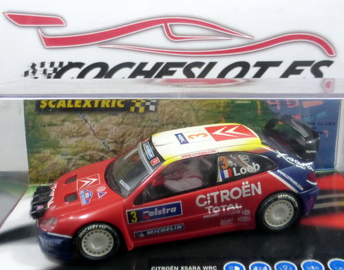 CITROEN XSARA WRC WORLD CHAMPION.REF.6171 TECNITOYS