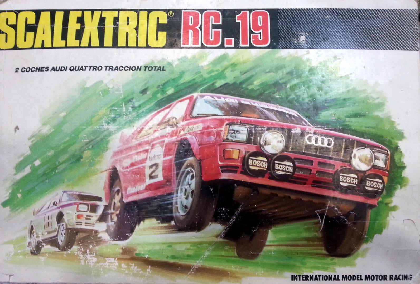 Circuito Rc : Circuito rc 19 audi quatro solo caja exin