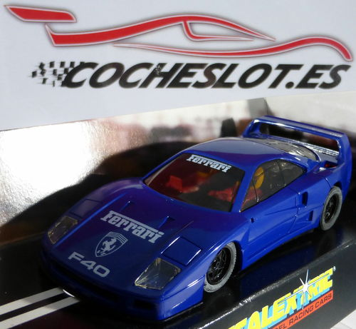 FERRARI F40 CLUB SCALEXTRIC 1999 REF.C2207 HORNBY SUPERSLOT