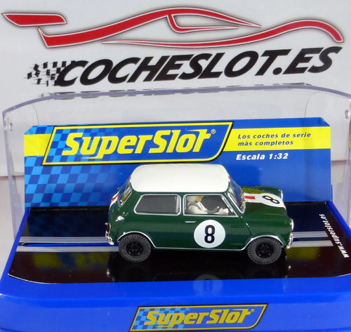 MINI COOPER TOURING CAR LEGENDS Nº8 REF.S3586B SUPERSLOT