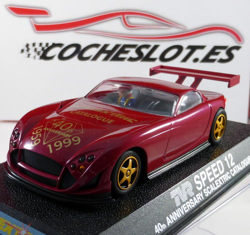 TVR RED SPEED 12 LTD.ED.500 UNIDADES 40 ANIVERSARIO REF.C2245 SUPERSLOT