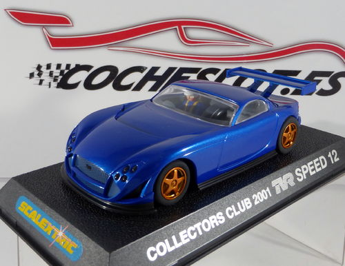TVR SPEED 12 COLLECTOR'S CLUB 2001 LTD. ED. REF.C2363 SCALEXTRIC UK SUPERSLOT