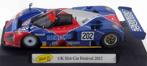 MAZDA 787 RENOWN UK SLOT CAR FESTIVAL 2012 SLOT.IT