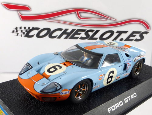 FORD GT 40 GULF 1969 Nº6 REF.H2404 SUPERSLOT