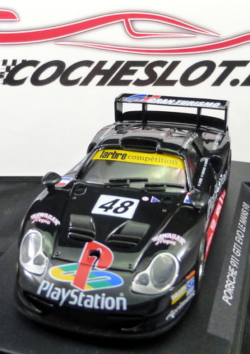 "PORSCHE GT1 EVO   ""Play Station"" NEGRO REF.A55 FLY"