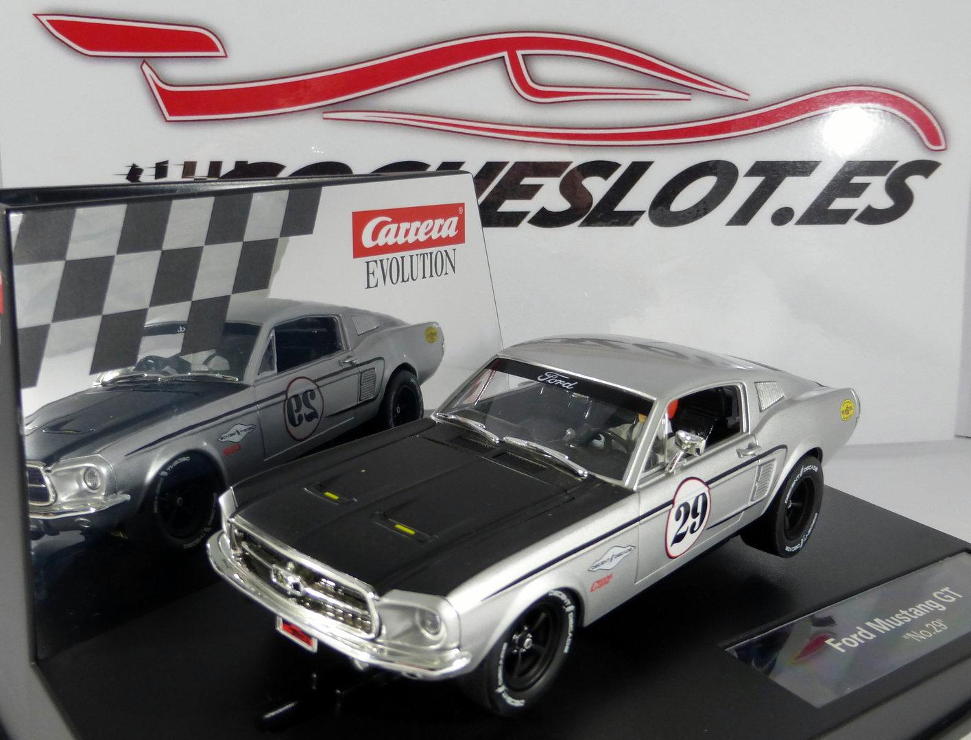 Evolution ford mustang gt nº29 ref 20027554 carrera