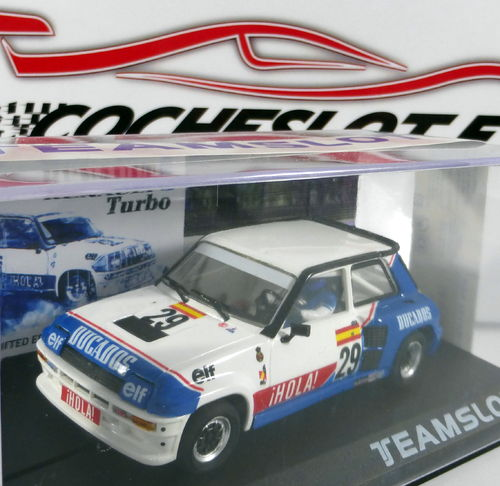 RENAULT 5 TURBO  DUCADOS LTD.250 UNIDADES REF.SRE18 TEAM SLOT