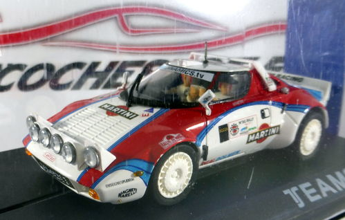 LANCIA STRATOS MARTINI T.A.C.RALLY REF.11514 TEAMSLOT