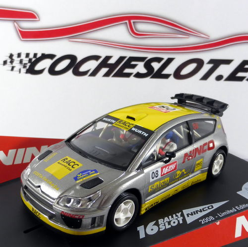 CITROEN C4 WRC RALLY CATALUNYA 08 REF.50510 NINCO
