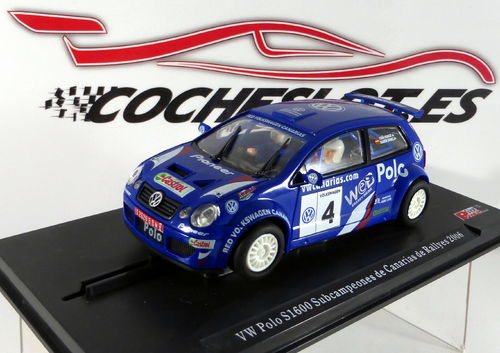 VW POLO S1600 CANARIAS RALLYES 06 COLECCION PONCE MOTORSPORT  POWER SLOT