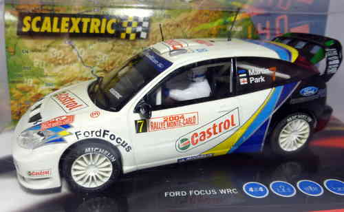 FORD FOCUS WRC MONTECARLO  REF.6147 SCALEXTRIC