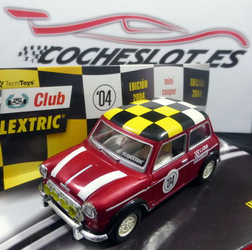CLUB SCALEXTRIC 2004 MINI REF. 6137 TECNITOYS