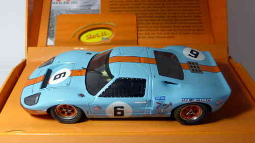 FORD GT40 GULF LE MANS 1969 ED.LTD.REF. SICW09 SLOT.IT