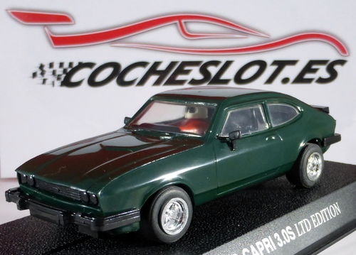 FORD CAPRI 3.0S VERDE LTD.ED. 1000 U. REF.C2059  SCALEXTRIC UK 1997