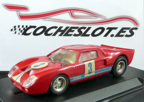 FORD GT 40 ROJO REF.C-35 EXIN 1968