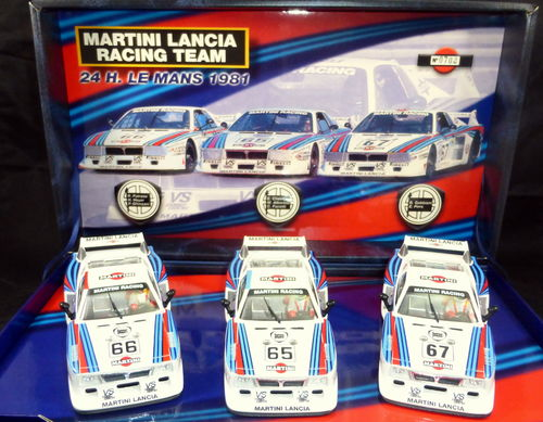 TEAM LANCIA BETA - Team 3 Martini LE MANS 1981 Ref: TEAM01a-96001a FLY