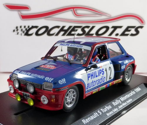 RENAULT 5 TURBO RALLY MONTECARLO 1984 REF.88163 A-1202  FLY