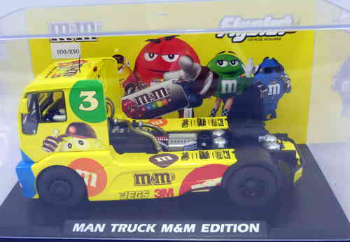CAMION MAN M&M EDICION LIMITADA 250 UNIDADES FLY