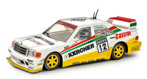 MERCEDES 190E Nº12 DTM 1992 KARCHER REF.SI-CA44B SLOT.IT