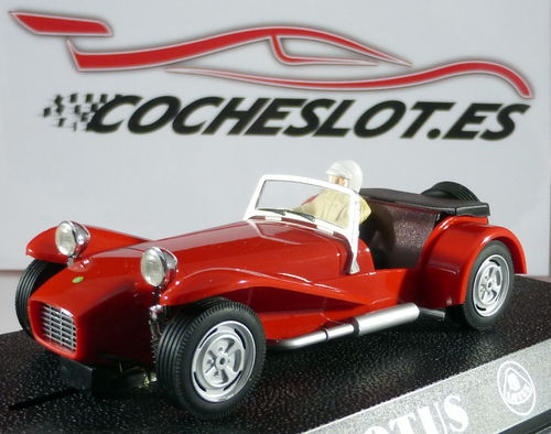 LOTUS 7 CLASSIC ROJO REF.C2200 SUPERSLOT SCALEXTRIC UK