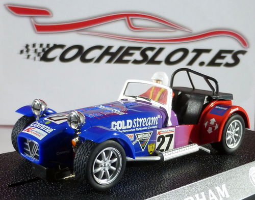 CATERHAM 7 REF.C2201 SUPERSLOT SCALEXTRIC UK