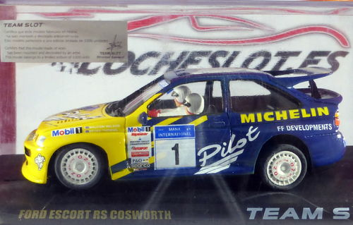 FORD ESCORT RS COSWORTH PILOT LTD. ED.1000u. REF.75101 TEAMSLOT