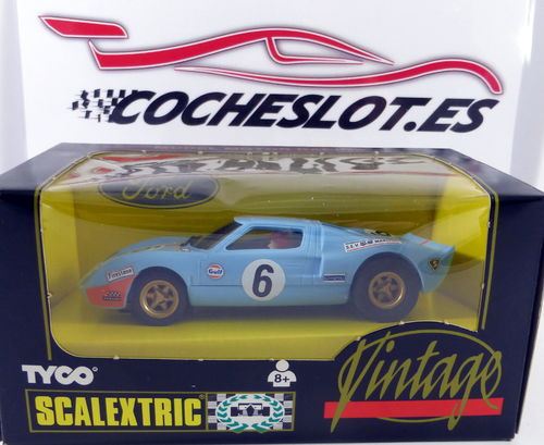 FORD GT 40 GULF VINTAGE REF.8394.09 TYCO