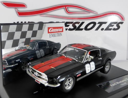 FORD MUSTANG GT Nº66 REF.20027553 CARRERA EVOLUTION