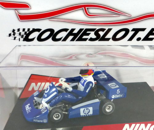 SUPER KART F-1 HP AZUL REF.50285 NINCO