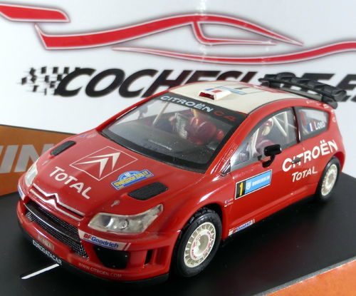 Citroen C4 WRC Swedish '07 - Loeb REF.50494 NINCO