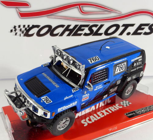 HUMMER 2006 H3 SUV REF. 6308  Scalextric Tecnitoys