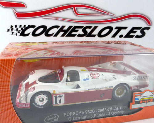 PORSCHE 962C LE MANS FORTUNA 1986 REF.CA03F SLOT.IT