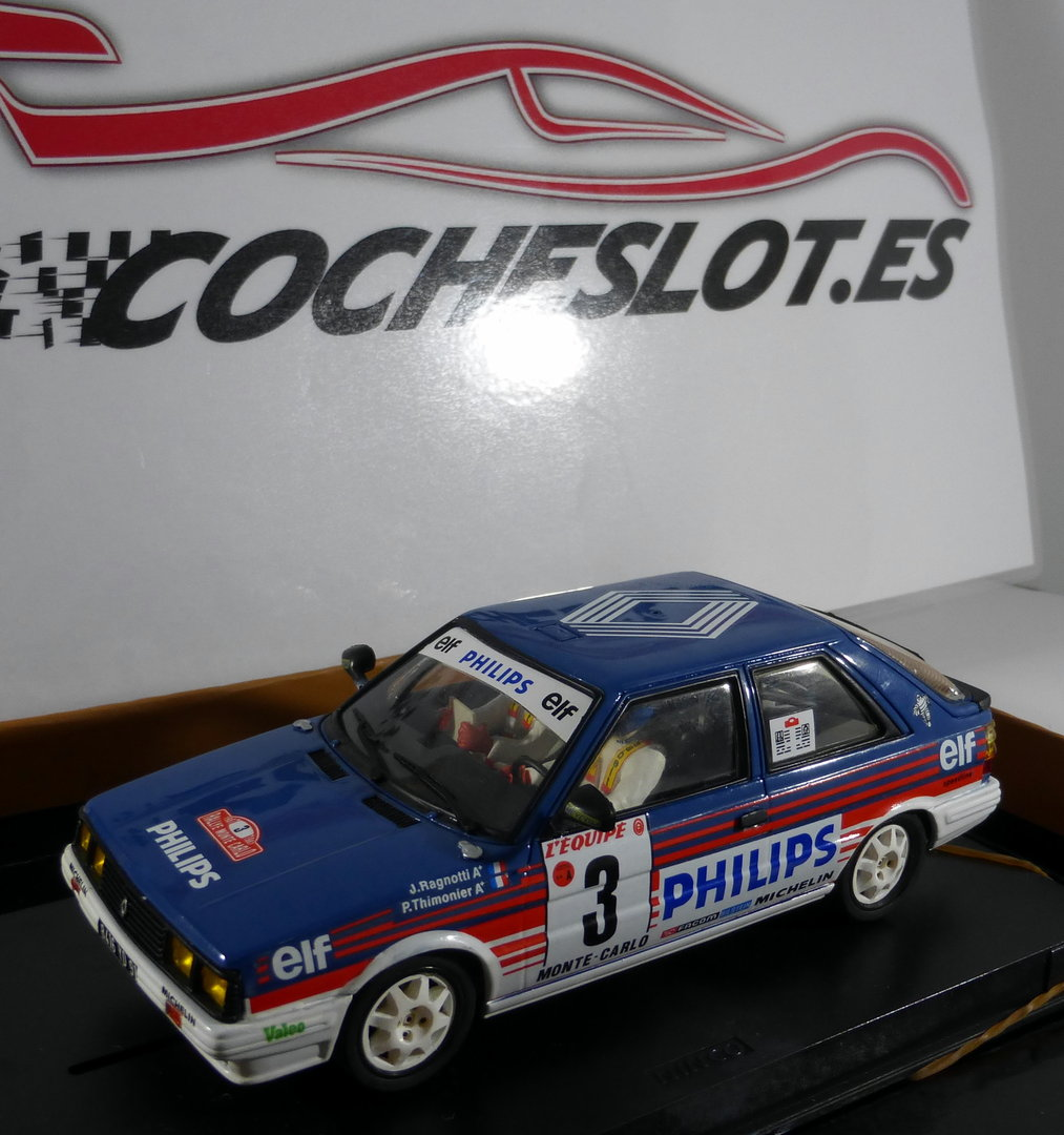 Renault 11 Turbo Rally Montecarlo Decoracion Phillips Ref 0c 02 Octane
