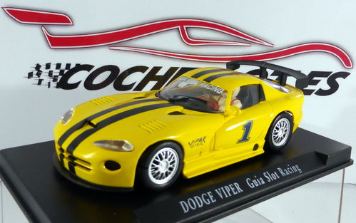 VIPER AMARILLO GUIA SLOT RACING REF. E1 FLY