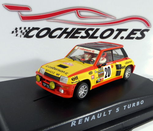 RENAULT 5 TURBO DECORACION CALBERSON REF.TS11802 SPIRIT