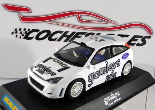 "FORD FOCUS WRC ""gamleys 2002 White"" Lted. Ed REF.C2471B SUPERSLOT"