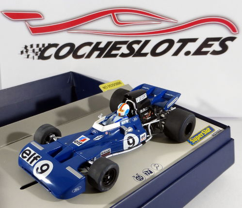 "Tyrrell 002 ""Cevert"" F1 USA GP 1971 - Scalextric Legends REF. C3759A SUPERSLOT"