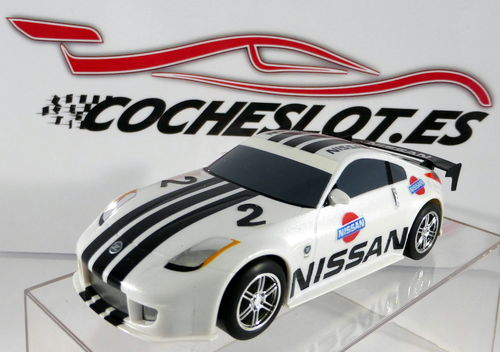 Nissan 350Z White Drift 360° Car REF.C2736 SUPERSLOT