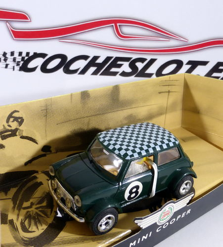 Mini Cooper Green No.8 REF. C099 SUPERSLOT