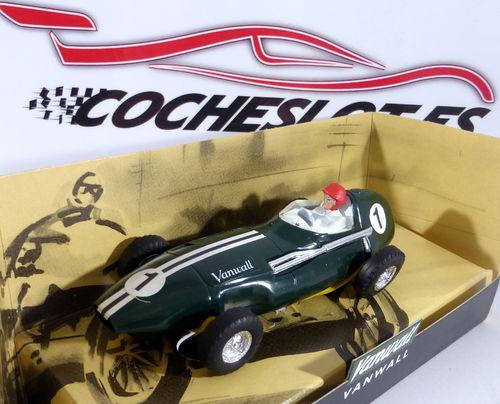 Vanwall N. 1 slot car F1 REF.C097 SUPERSLOT