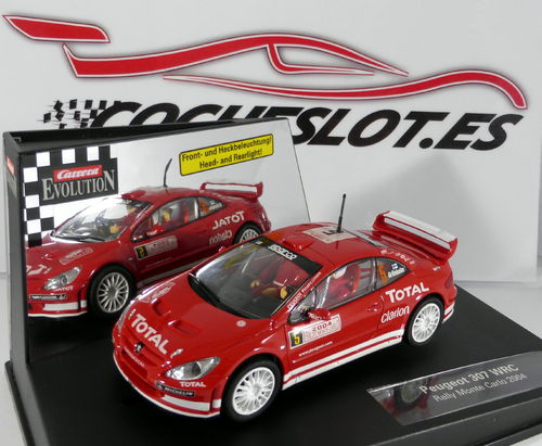 "Peugeot 307 WRC Nº5 "" Rally Monte Carlo "" REF. 25731 EVOLUTION CARRERA"