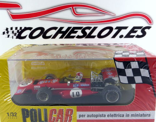 MARCH 701 F1 Nº10 2º SPA 1970 CHRIS AMON REF.CAR04A POLICAR