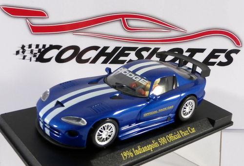 DODGE VIPER AZUL1996 INDIANAPOLIS 500 OFFICIAL REF.E2 FLY
