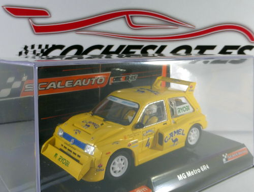 MG METRO 6R4 CAMEL OFF ROAD 1991 HOME SERIES REF.SC6154 SCALEAUTO