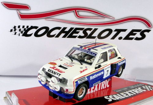 RENAULT 5 ROTHMANS ED.LM FOROSLOT VALENCIA ABRIL 2019 TECNITOYS