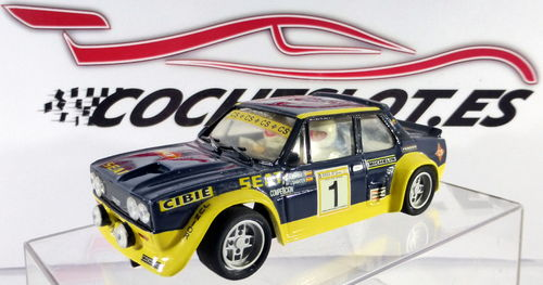 FIAT 131 ABARTH ZANINI  REF.70601 TEAM SLOT
