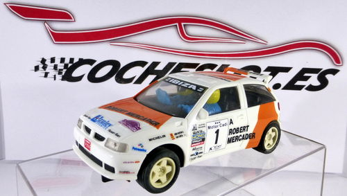 "Seat Ibiza kit Car ""Robert Mercader"" CHASIS 1 TORNILLO REF.	8390 TYCO	1996"