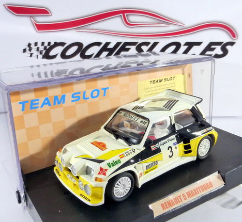 R-5 MAXI TURBO ''SAINZ'' REF.70501 EDICION 1000 u.TEAM SLOT