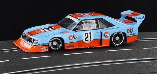FORD MUSTANG GULF HISTORICAL COLORS  REF.SWHC05 SIDEWAYS